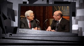 Sports Bites: Arthur Miller and Kenneth Feinberg – Litigation in Sports